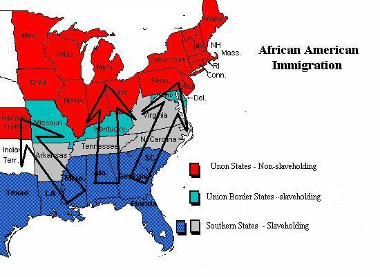african immigration to the americas In 1879, rumors circulated in african-american communities in the south that kansas was being set aside for settlement by former slaves upwards of 15,000 blacks moved to kansas they were called exodusters because of their exodus into the dusty plains state of kansas.